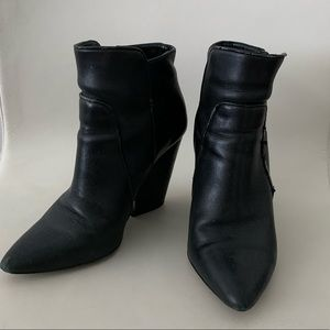 BCBG Black Booties Ankle boots